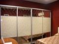 Двери для шкафа купе крашеное стекло