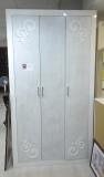Шкаф фанерованный шпоном, белый